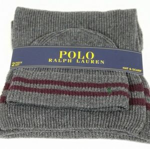 Polo Ralph Lauren Hat & Scarf Set 2-Piece